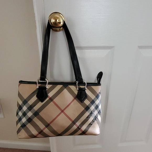 Burberry Handbags - Authentic Burberry Nova Check Shoulder Bag
